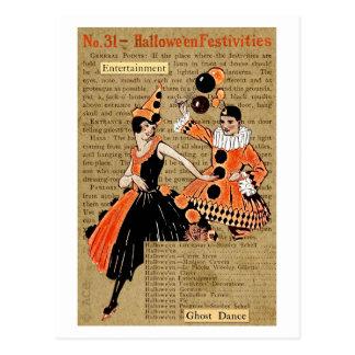 Halloween Festivities Postcard