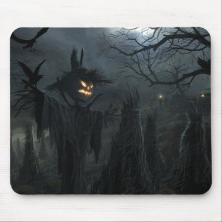 Halloween Field of Death Mouse Pad