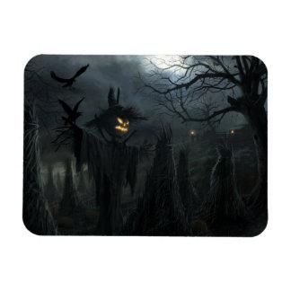 Halloween Field of Death Rectangular Magnets