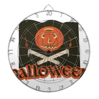 Halloween Flag Dartboard
