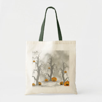 Halloween Forest Canvas Bags