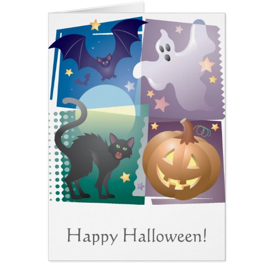 Halloween Foursome Card