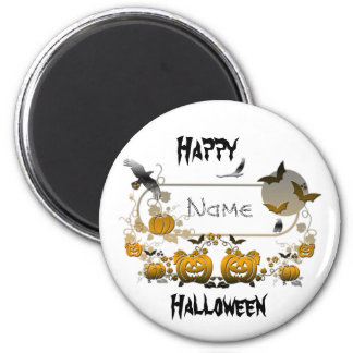 Halloween Frame Refrigerator Magnet