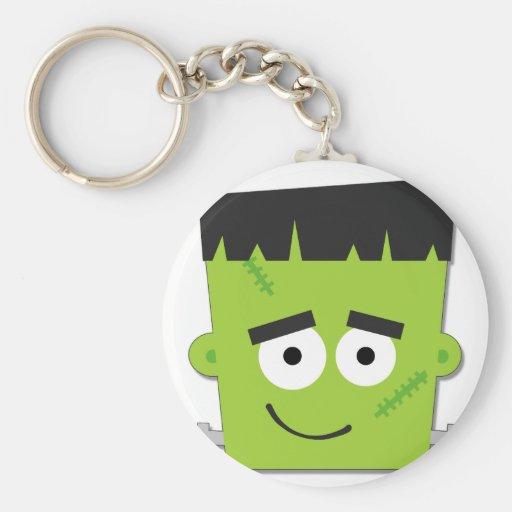 Halloween Frankenstein T-shirts and Gifts Keychain