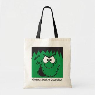 Halloween Frankenstein Trick or Treat Bag