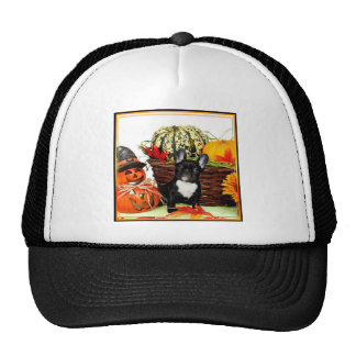 Halloween French Bulldog Trucker Hat