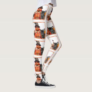 Halloween French Bulldogs leggings