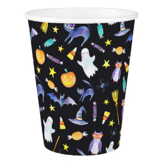 Halloween Friends Paper Cup