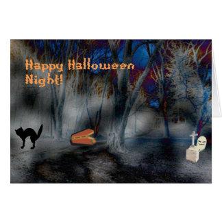 Halloween Fun Night Merchandise Card
