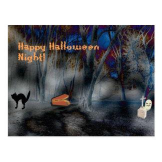 Halloween Fun Night Merchandise Postcard