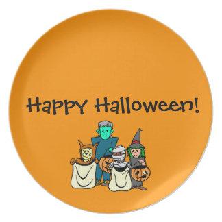 Halloween Gang Plate