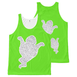 Halloween Ghost All-Over Print Singlet
