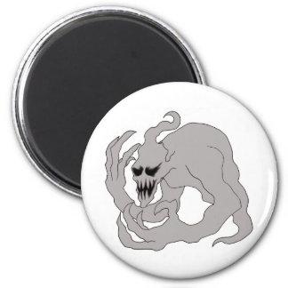 Halloween Ghost Art 6 Cm Round Magnet