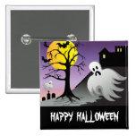 Halloween Ghost Bats 10% Off Sale 15 Cm Square Badge
