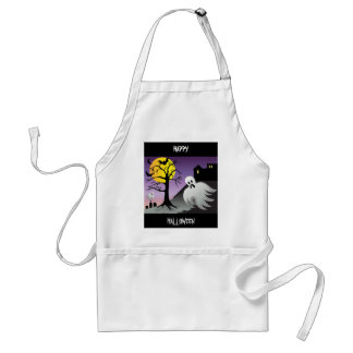 Halloween Ghost Bats 10% Off Sale Standard Apron