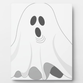 Halloween Ghost - BOO! Plaque