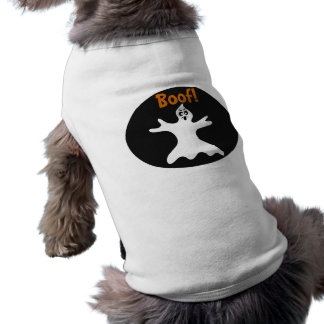 Halloween Ghost Dog Costume Shirt