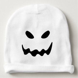 Halloween Ghost Face Baby Beanie
