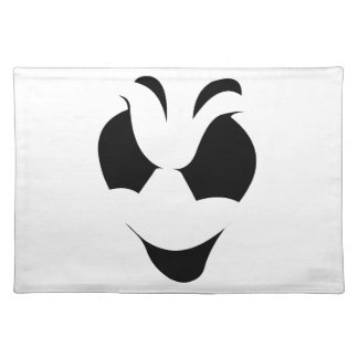 Halloween Ghost Face Placemat