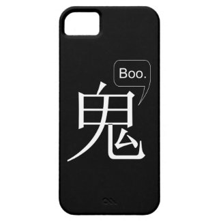 Halloween Ghost Kanji iPhone Case