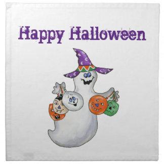 Halloween Ghost Printed Napkin