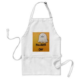 Halloween ghost standard apron