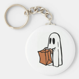 Halloween Ghost Trick-or-Treat Key Chains