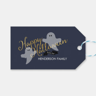 Be Scary Halloween Gift Tags