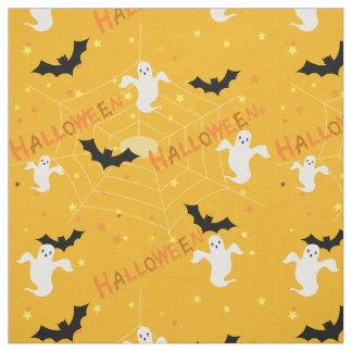 Halloween ghosts fabric