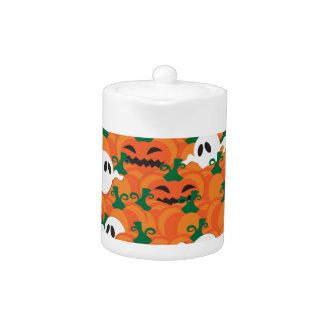 Halloween Ghosts Haunted Pumpkin Patch