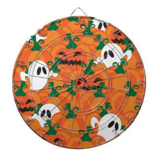 Halloween Ghosts Haunted Pumpkin Patch Dart Board