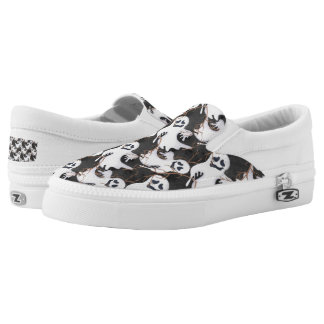 Halloween Ghosts Slip On Shoes