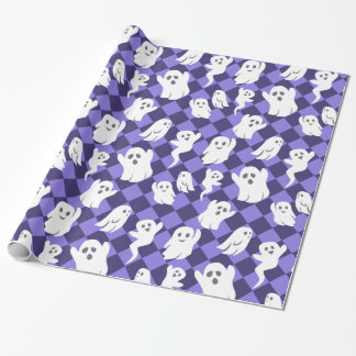 Halloween Ghosts Wrapping Paper