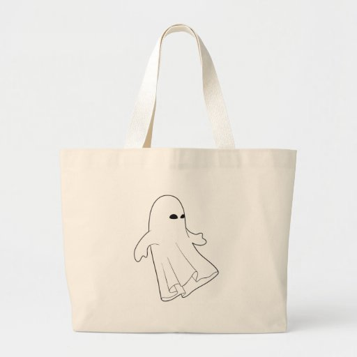 """Halloween Ghoul"" Canvas Bag"