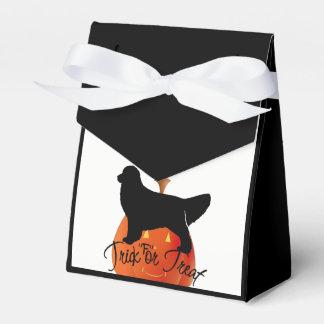 Halloween Golden Retriever Favour Box