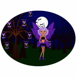 Halloween Gothic Faery Eve Hallow Photo Sculpture