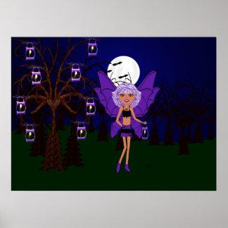 Halloween Gothic Faery Eve Hallow Poster