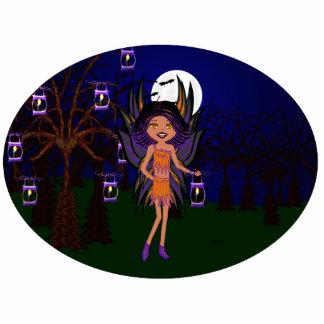 Halloween Gothic Faery Phoenix Photo Sculpture