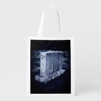 Halloween Grave Reusable Bag