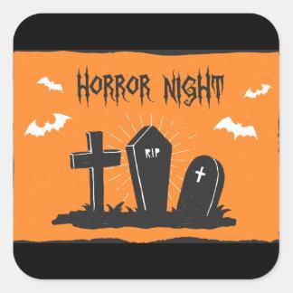 Halloween Graves Sticker