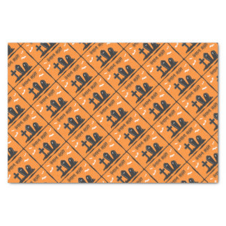 Halloween Graves Tissue Paper