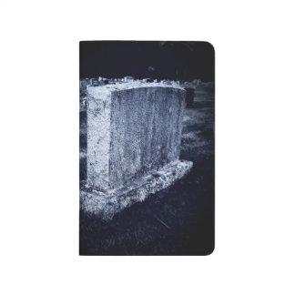 Halloween Gravestone Pocket Journal