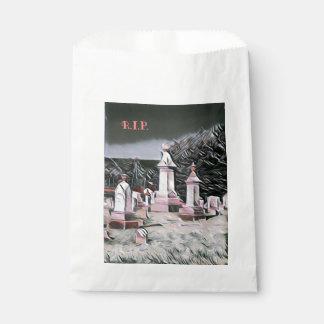 Halloween Graveyard RIP Party Supplies Favour Bag