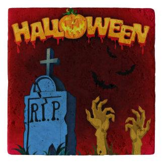 Halloween Graveyard Trivet
