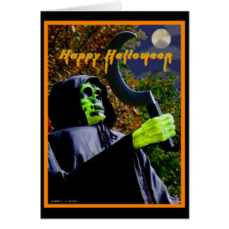 'Halloween' Greeting Card