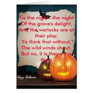 Halloween Greeting Card 1