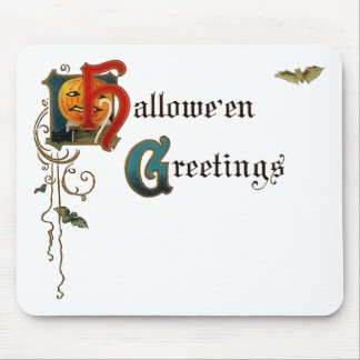 Halloween Greeting Mousepad