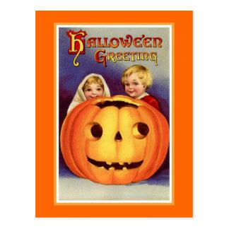 """Halloween Greeting"" Postcard"
