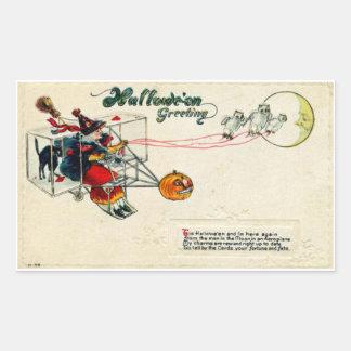Hallowe'en Greeting Sticker