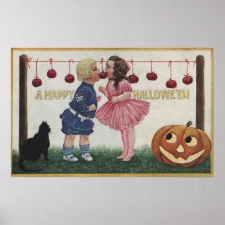 Halloween GreetingApples on String Posters